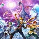 Golden Sun Game Wall Print POSTER Decor 32x24