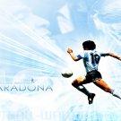 Maradona Football Star Wall Print POSTER Decor 32x24