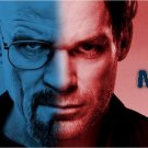 Breaking Bad Walter White And Dexter Wall Print POSTER Decor 32x24
