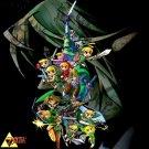 The Legend Of Zelda 25th Anniversary Wall Print POSTER Decor 32x24