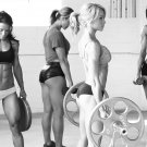 Andreia Brazier Fitness Athletes Wall Print POSTER Decor 32x24