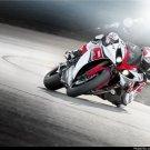 Yamaha R1 Speed Motorcycle Wall Print POSTER Decor 32x24