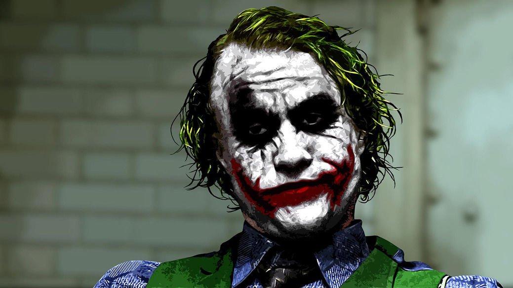 Joker Batman The Dark Knight Wall Print POSTER Decor 32x24