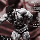 Bodybuilding Fitness Motivation Motivational Wall Print POSTER Decor 32x24