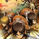 Attack On Titan Manga Anime Wall Print POSTER Decor 32x24