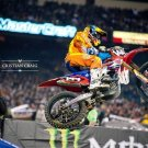 Motocross Dirt Bike Jump Sport Wall Print POSTER Decor 32x24