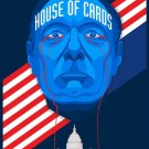 House Of Cards 1 2 3 TV Show Wall Print POSTER Decor 32x24