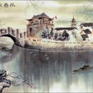Chinese Water Ink Brush Paint Style Wall Print POSTER Decor 32x24