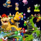 Super Mario Bros Game Baby Cute Wall Print POSTER Decor 32x24