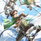 Attack On Titan Japanese Manga Anime Wall Print POSTER Decor 32x24