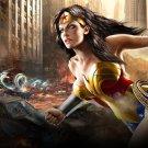 Art Design Girl Wonder Women Wall Print POSTER Decor 32x24