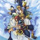 Kingdom Hearts Boy 1 2 Game Wall Print POSTER Decor 32x24