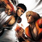 Street Fighter IV Game Wall Print POSTER Decor 32x24