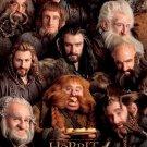 The Hobbit 1 2 3 Movie Wall Print POSTER Decor 32x24