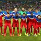 USA Brazil World Club Soccer Team Football Wall Print POSTER Decor 32x24