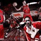 Derrick Rose Basketball Star Wall Print POSTER Decor 32x24