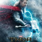 Thor 1 2 The Dark World MOVIE Wall Print POSTER Decor 32x24