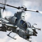Cobra AH 1 Bell Attack Helicopter Wall Print POSTER Decor 32x24