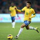 Neymar Da Silva Brazil Football Star Wall Print POSTER Decor 32x24