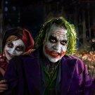 Harley Quinn Joker Batman Arkham City Wall Print POSTER Decor 32x24