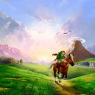 The Legend Of Zelda 25th Anniversary Game Wall Print POSTER Decor 32x24