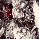 Berserk Manga Kentaro Miura Japanese Anime Wall Print POSTER Decor 32x24