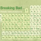 Breaking Bad 1 2 3 4 TV Wall Print POSTER Decor 32x24