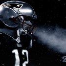 Tom Brady American Football Star Wall Print POSTER Decor 32x24