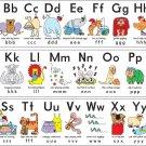 My ABC Alphabet Learn Table Wall Print POSTER Decor 32x24