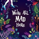 Alice In Wonderland Movie Wall Print POSTER Decor 32x24