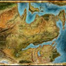 Thedas Map Dragon Age Games Art Wall Print POSTER Decor 32x24