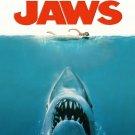 Jaws 1 2 3 Movie Wall Print POSTER Decor 32x24