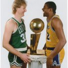 Larry Bird Magic Johnson Basketball Star Wall Print POSTER Decor 32x24