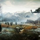 Battlefield 1 2 3 4 Game Wall Print POSTER Decor 32x24