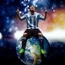 Lionel Messi Football Star Soccer Wall Print POSTER Decor 32x24
