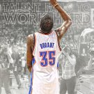 Kevin Durant VS Lebron James Basketball Star Wall Print POSTER Decor 32x24