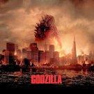 Godzilla 2014 Movie Wall Print POSTER Decor 32x24