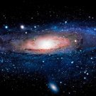 Andromeda Galaxy Stars Universe Space Wall Print POSTER Decor 32x24