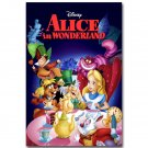 Alice In Wonderland Cartoon Movie Poster 32x24