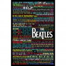 The Beatles Hot Music Rock Band Art Poster Motivational Quotes 32x24