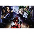Batman Joker Wonder Woman Superheroes Art Poster 32x24
