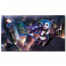 League Of Legends Jinx Game Wall Poster 32x24