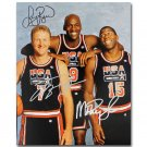 Larry Bird Michael Jordan USA Basketball Team Poster 32x24