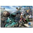 Kingdom Hearts 3 Game Art Poster Print Attack On Titan 32x24