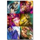 Street Fighter V Game Poster Chun Li CAMMY 32x24