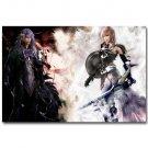 Final Fantasy Caius Ballad Vs Lighting Game Poster 32x24