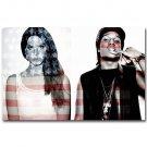 ASAP ROCKY Rapper Music Singer Poster Prints Lana Del Rey 32x24