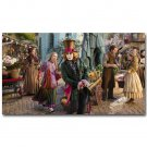 Alice Through The Looking Glass Movie Art Poster Alice In Wonderland 32x24