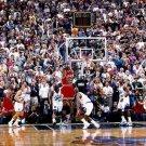 Michael Jordan Dunks Super Basketball Star Art Poster 32x24