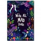Alice In Wonderland Cartoon Movie Poster 32x24
